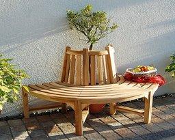 baumbank holz modell kaufen rundbank aus holz. Black Bedroom Furniture Sets. Home Design Ideas
