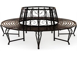 baumbank kaufen baumbank holz metall modelle 2017. Black Bedroom Furniture Sets. Home Design Ideas