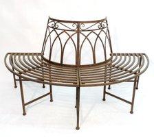 baumbank metall modelle rundbank f r baum. Black Bedroom Furniture Sets. Home Design Ideas