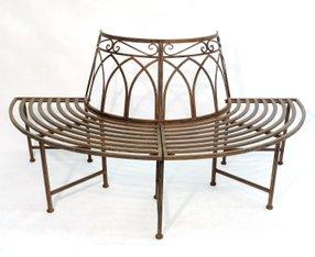 baumbank kaufen baumbank holz metall modelle 2016. Black Bedroom Furniture Sets. Home Design Ideas